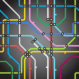 Metro map background Stock Photo