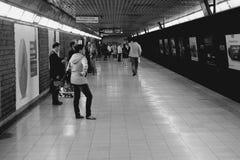 Metro in Milan Stock Images