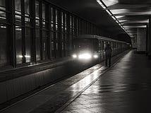 metro moscú Imagen de archivo libre de regalías