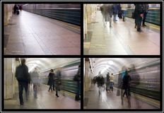 Metro Moscow Royalty Free Stock Images