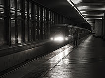 metro moskau Lizenzfreies Stockbild