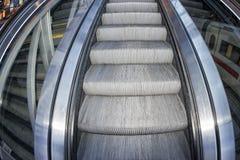 Metro moving escalator Stock Photography