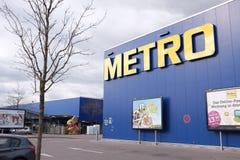 Metro munich close up Royalty Free Stock Photo
