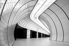 Metro Munich Marrienplatz Royalty Free Stock Image