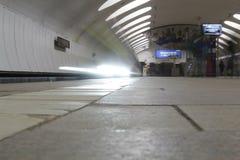 Metro no dvizheniia Foto de Stock