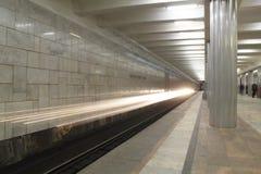 Metro no dvizheniia Imagens de Stock