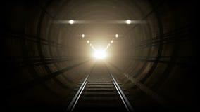 Metro ondergrondse gang Stock Afbeeldingen