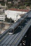 metro oporto Fotografering för Bildbyråer
