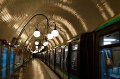 Metro, París Imágenes de archivo libres de regalías