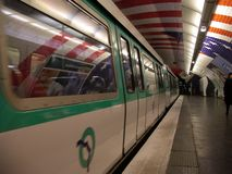 Metro of Paris Royalty Free Stock Photography