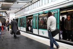 metro paris Fotografering för Bildbyråer