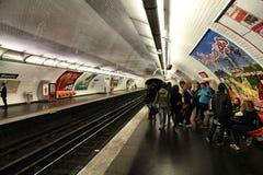 metro Paris Fotografia Royalty Free