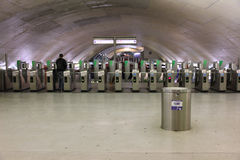 metro Paris Zdjęcia Stock