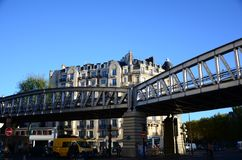 Metro Paris hübsch stockfotografie