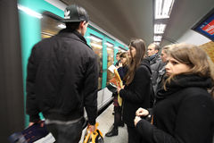 Metro in Paris. Stock Photography