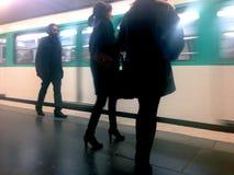 Metro - Paris Royalty Free Stock Photography