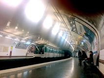Metro - Paris Royalty Free Stock Images
