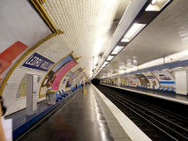 Metro in Paris Stock Images