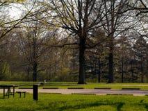 metro park obraz royalty free