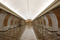 Metro Park victory in Moscow. Russia Stock Photos