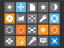 Metro pictogram royalty-vrije stock afbeelding