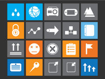 Metro pictogram Royalty-vrije Stock Afbeeldingen