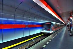 Metro Post Stock Afbeelding