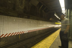 Metro post Stock Foto