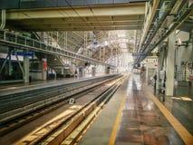 Metro Post Royalty-vrije Stock Foto's
