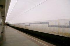 Metro post Chistye Prudy in Moskou, Rusland Het werd geopend in 15 05 1935 Stock Foto's