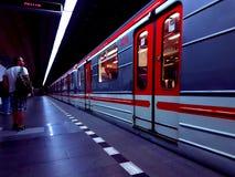 Metro Praga imagem de stock royalty free