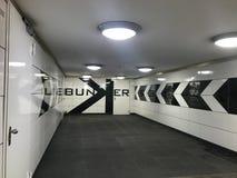 Metro przerwa w Berlin fotografia royalty free