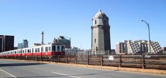 Metro przy Boston Obraz Royalty Free