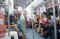 Metro ruch drogowy Fotografia Royalty Free