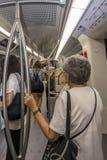 Metro Salónica Grecia foto de archivo