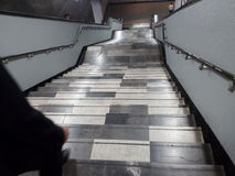 Metro schodki - Escaleras Del Metro Fotografia Royalty Free