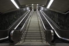 Metro schodki w Madryt fotografia royalty free