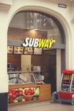 Metro sklepu powierzchowność Zdjęcie Stock
