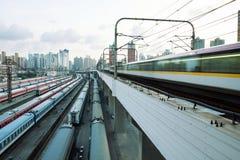 Metro snelheid Stock Afbeelding