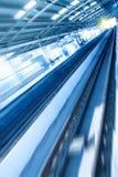 Metro spoor stock fotografie