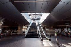 Metro, metro, stacja metra Amsterdam Noord/, Nederland obraz stock