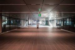 Metro, metro, stacja metra Amsterdam Noord/, Nederland zdjęcia stock