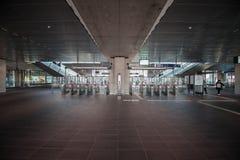 Metro, metro, stacja metra Amsterdam Noord/, Nederland zdjęcie royalty free