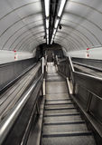 Metro stairs Royalty Free Stock Photos