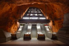 Metro-Station Stockbild