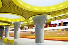Metro-Station stockfoto