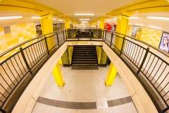 Metro Station in Berlin, Germany Stock Photos