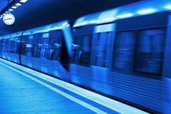 Metro station blueprint Stock Images