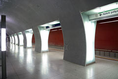 Metro station Budapest royalty free stock images
