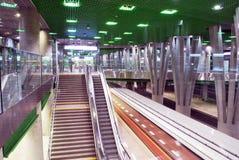 Metro Station. Metro, car queue, subway station, subway passengers, public transport, platform metro, suburban train underground, a network of underground royalty free stock photos